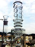 De hete Rokende Waterpijpen Van uitstekende kwaliteit van het Glas van de Recycleermachine van de Verkoop K42 Kleurrijke