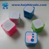 Mini Cube Microsd TF Card MP3 Player com alto-falante