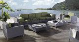 Grosses Set-bequemes im Freienmöbel-Garten-Sofa-gesetzte Möbel mit dem linken/rechten Cornor Sofa eingestellt (YT0185)