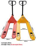 Manual de escala Pallet Turck mano de carretillas elevadoras Operado