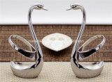 Jogo dos utensílios de mesa do banquete de casamento da colher da louça da cisne/suporte da forquilha