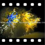 Candelabro original Lighting de Design Blueblown Glass para Decoration