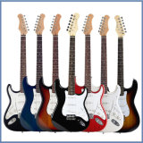 Guitare électrique acoustique faite sur commande