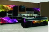 L de Keukenkast van het Glas van de Vorm 4D