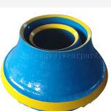 El desgaste parte la capa/el trazador de líneas cóncavo/del tazón de fuente/la placa de la quijada para la trituradora de Metso