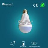 Indicatore luminoso di lampadina ricaricabile dell'indicatore luminoso di lampadina di prezzi di fabbrica 9W LED