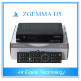 ZgemmaのデコーダーコンボDVBを実行する最も速いCPU S2 + DVB T2/C Zgemma H5