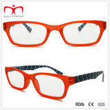 Stripe Pattern (WRP507251)를 가진 최신 Sales Plastic Ladies Reading Glasses