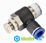 Alta qualità Pneumatic Fitting con BSPT BSPP NPT Thread con CE (PL10-02)