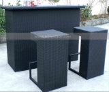 Mtc-113 del jardín al aire libre Patio Rattan Bar Set