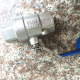 Bsp Threaded Ends를 가진 DIN Stainless Steel 2PC Ball Valve