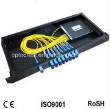 Divisor óptico profesional del PLC de fibra de la fuente del conector del Sc