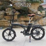 Bici eléctrica plegable rápida de la talla de la bici 20inch de la mini bici de alto nivel estupenda (TDN12Z)