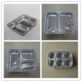Aluminum jetable Foil Container pour Airline Catering