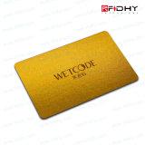 Carte sans contact sèche d'IDENTIFICATION RF de l'électronique d'identification de PVC de mode
