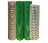 """1つの""""インチPVCの安い価格は溶接された金網/電流を通された溶接された金網に塗った"""