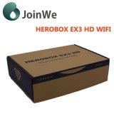 Dvb-S2+T2/C met de TweelingOntvanger van Herobox Ex3 HD van de Tuner WiFi