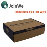 WiFiの対のチューナーのHerobox Ex3 HDの受信機とのDVB-S2+T2/C