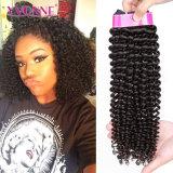 Горячие продавая Kinky курчавые бразильские человеческие волосы Remy девственницы