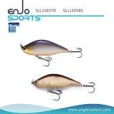 Richiamo superiore Lipless duro selezionato dell'attrezzatura di pesca dell'acqua del pescatore con Vmc gli ami tripli (SLL150370)