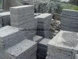 Спиленная чернота Lavastone отрезока, Paver лавы каменный, камень базальта вымощая