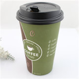 12oz disponible Coffee Paper Cup con Lid