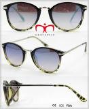 Occhiali da sole di vendita caldi di protezione UV400 con il tempiale del metallo (WSP601536)