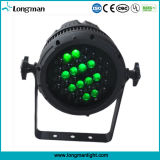 CER Outdoor Waterproof Zoom 36*3W RGBW LED PAR für Party/Garten