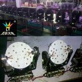 Cabeça movente 12X12W do mini feixe do diodo emissor de luz do disco RGBW do estágio UV
