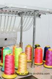 6개의 헤드 백색과 까만 색깔을%s 가진 고속 전산화된 자수 기계