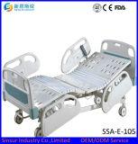 Cama de hospital de múltiples funciones de Ajustable del ABS eléctrico de lujo del equipamiento médico