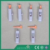 Lanceta de sangre estéril no reutilizable médica aprobada de la seguridad de CE/ISO (MT58054007)