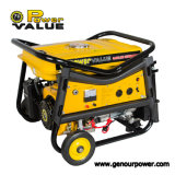Alimentation électrique Value Taizhou Hot Sale Portable Gasoline Generator 2500 2kw 5.5HP 168f-1