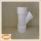 Guarnición de Dbr con la horqueta estándar de ASTM que reduce la guarnición del PVC