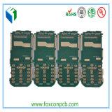 Доска PCB мобильного телефона 4layer твердая Enig с UL& RoHS