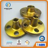 ASME B16.5の炭素鋼のWnのフランジは造ったセリウム(KT0407)が付いているフランジを