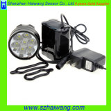 Mini CREE T6 9800lm Headlamp Bike Light com Au/EU/Us Plug Hw880
