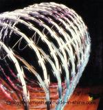 Cercado galvanizado del acoplamiento del alambre de púas de la maquinilla de afeitar