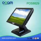 POS8829 15 terminal de position de détail d'écran tactile de guichet de pouce TFT