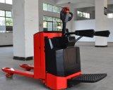 Caminhão de pálete elétrico das boas condições da fábrica de China