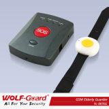 Sistema de alarma de llamada Emergency mayor de ladrón del G/M con el botón de pánico de la pulsera
