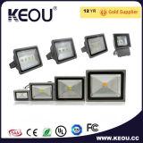 Indicatore luminoso di inondazione di alto potere AC85-265V LED 10With20With30With50W