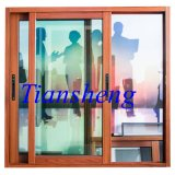 Sliding residencial Aluminium Window con Construir-en Grid