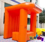 Neuestes bekanntmachendes aufblasbares orange Zelt