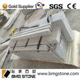 Mattonelle della pietra del cubo della pietra del ciottolo del granito G603 per i lastricatori del passaggio pedonale