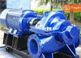 Bomba de agua centrífuga de la cubierta partida de la succión doble con el motor eléctrico