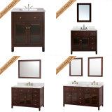 Fed-1007A Hot Sales Gabinete de banheiro de madeira sólida moderna Móveis de banho