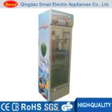 368L Single Glass Door Vertical Display Fridge