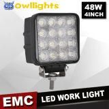 Iluminación del punto del coche de la luz del trabajo de las piezas de automóvil 48W LED para el carro