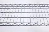 Crémaillère d'aménagement de fil de garage en métal de chrome de métro avec 500lbs par étagère